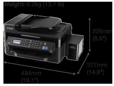 Ecotank L565 Multifunction Inktank Printer Ink Tank System