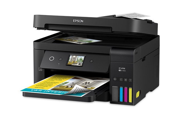 WorkForce ET-4750 EcoTank All-in-One Supertank Printer