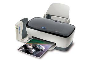Epson Stylus C80WN Ink Jet Printer