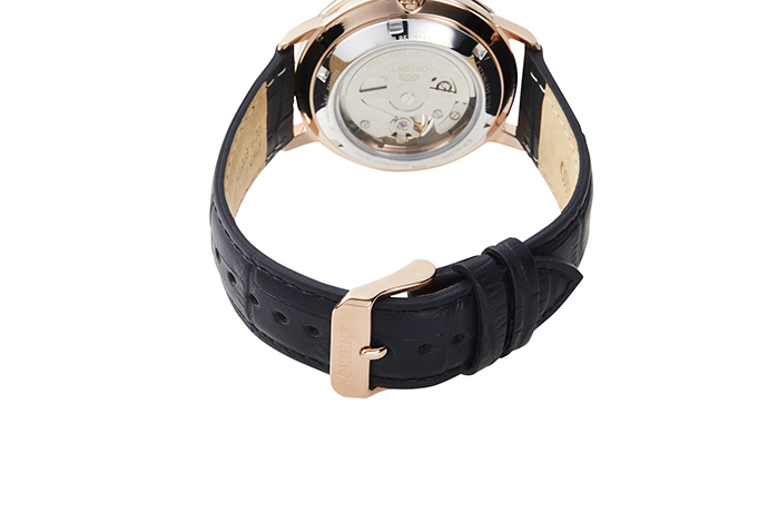 ORIENT: Mechanical Contemporary Watch, Leather Strap - 40mm (RA-AR0103B)