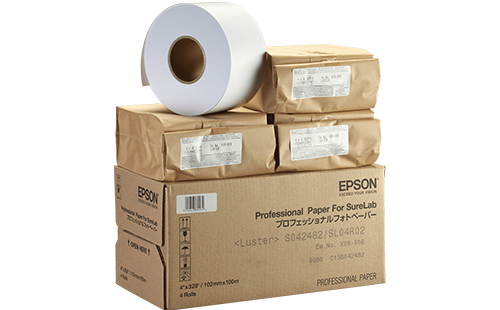 "Epson Pro Luster Paper - SL 5""x100m 1 Roll"