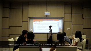 Epson Indonesia - Alila Solo Hotel using Interactive Projectors
