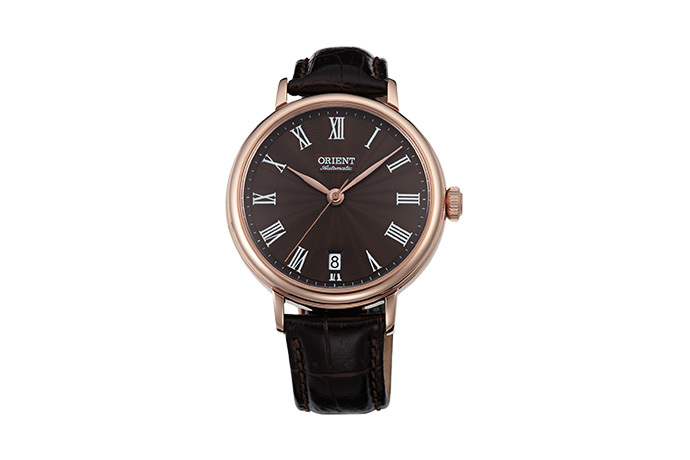 ORIENT: Mechanical Classic Watch, Leather Strap - 37.5mm (ER2K001T)