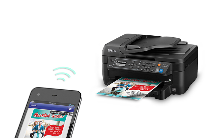 Epson Workforce Wf 2750 All In One Printer Inkjet