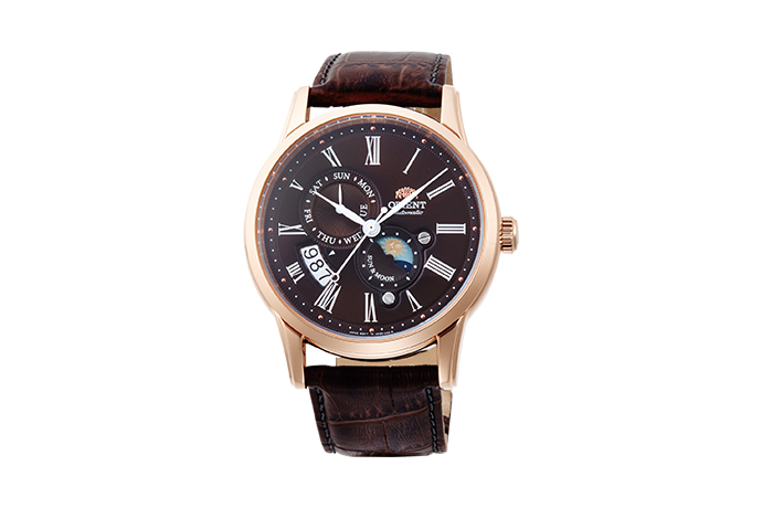 ORIENT: Mechanical Classic Watch, Leather Strap - 42.5mm (AK00003T)