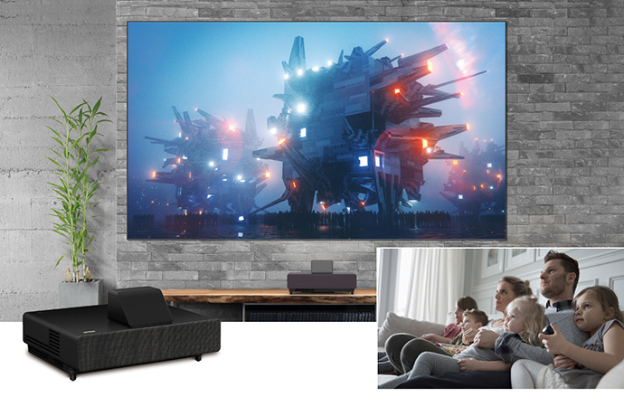 "120"" EpiqVision Ultra LS500 4K PRO-UHD Laser Projection TV"
