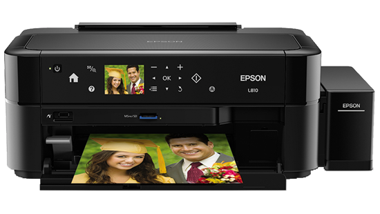 Epson EcoTank L810 Printer | Inkjet | Printers | For Work | Epson