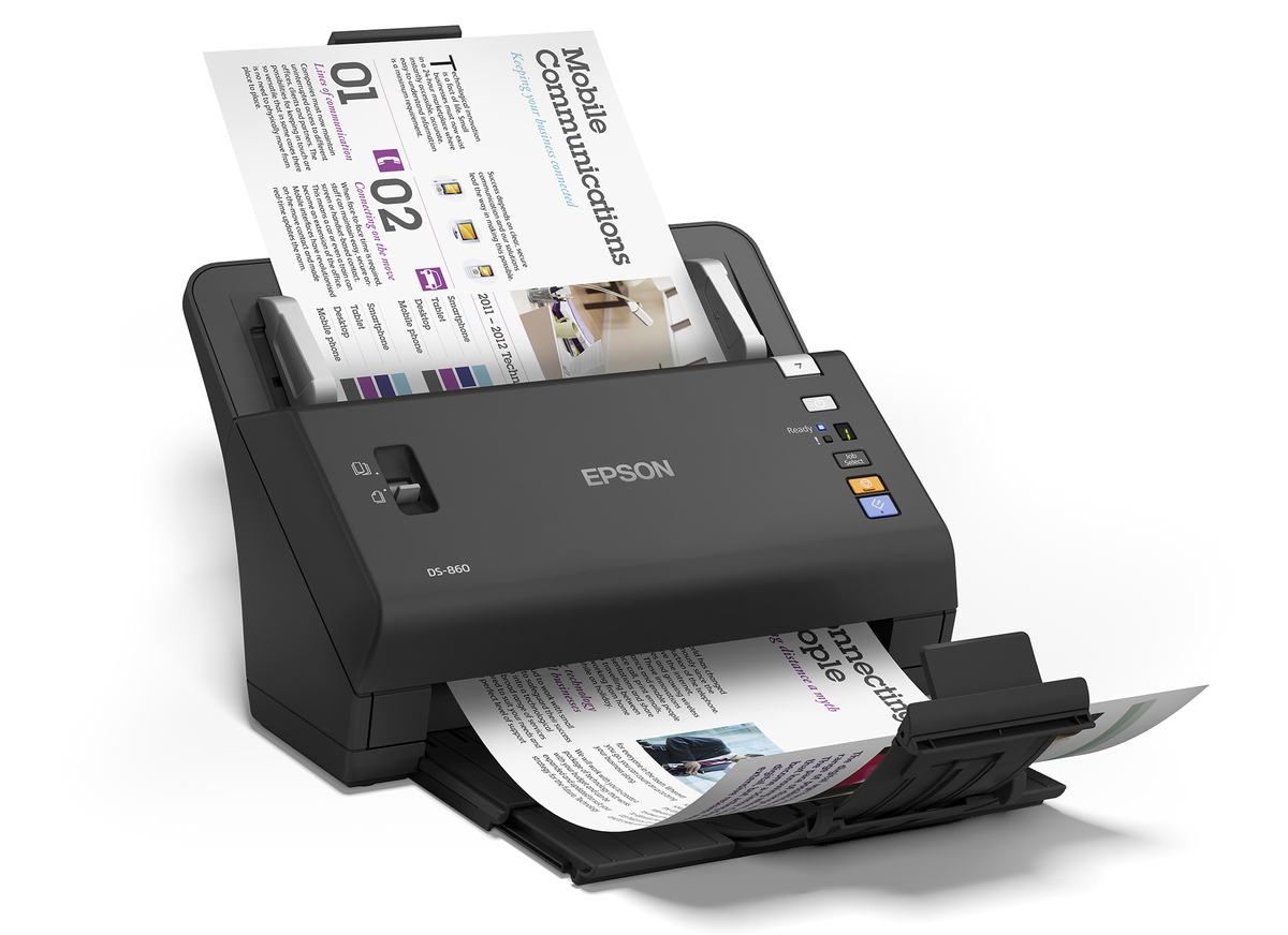 Epson WorkForce DS-860 Duplex Sheet-fed Document Scanner ...