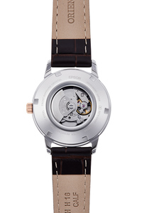 ORIENT: Mechanical Contemporary Watch, Leather Strap - 32.0mm (RA-NR2004S)