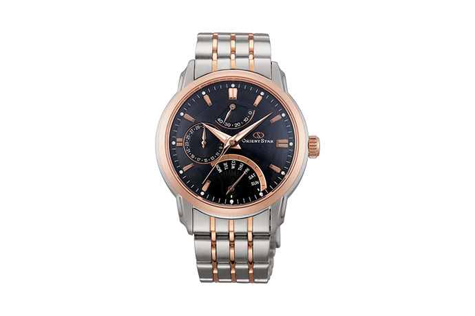 Orient Star: Mecanice Contemporan Ceas, Metal Şnur - 39.5mm (DE00004D)