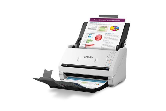 Epson WorkForce DS-770II Color Duplex Document Scanner