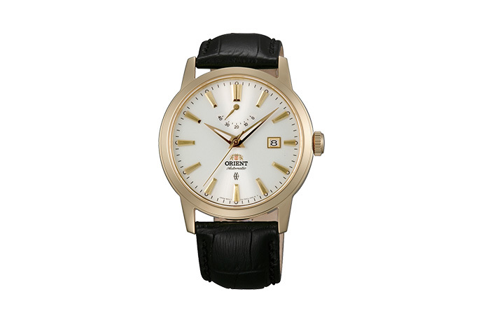 ORIENT: Mechanical Contemporary Watch, Leather Strap - 41.0mm (AF05002W)