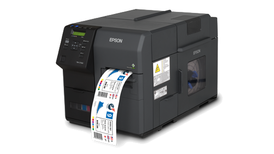 Epson ColorWorks C7510G Inkjet Color Label Printer
