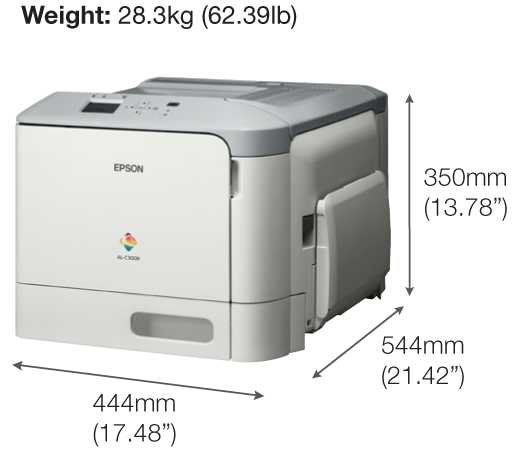 Epson WorkForce AL-C300DN Colour Laser Printer