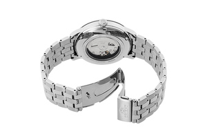 ORIENT: Mechanical Contemporary Watch, Metal Strap - 41.6mm (RA-AC0F10S)