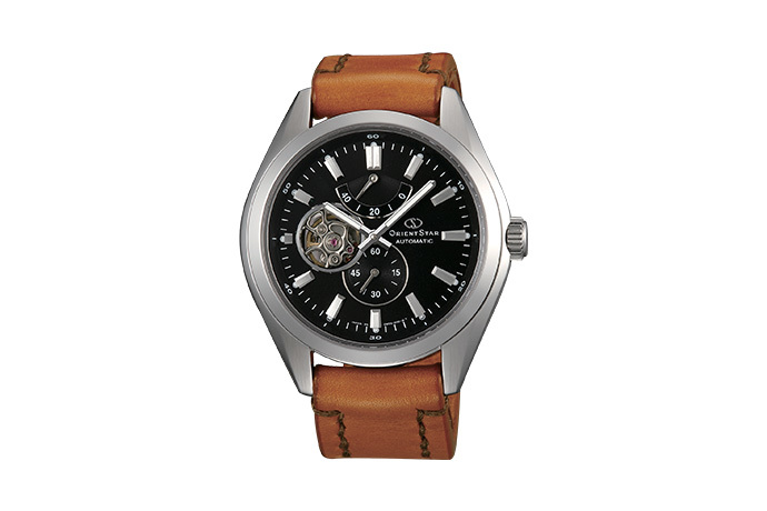 ORIENT STAR: Mechanical Contemporary Watch, Leather Strap - 44.0mm (DK02001B)