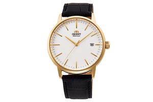 ORIENT: Mechanical Contemporary Watch, Leather Strap - 40.0mm (RA-AC0E03S)