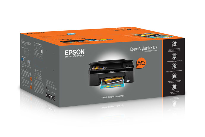 Epson Stylus NX127 All-in-One Printer
