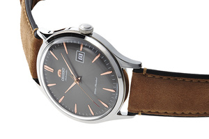 ORIENT: Mechanical Classic Watch, Leather Strap - 42.0mm (AC08003A)