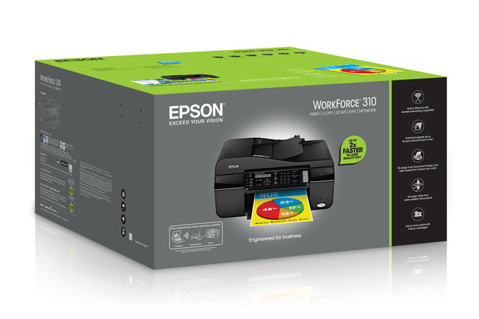 Epson WorkForce 310 All-in-One Printer