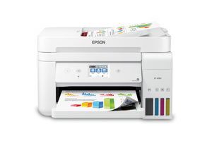 EcoTank ET-4760 All-in-One Cartridge-Free Supertank Printer - White