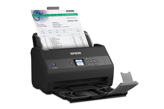 Epson WorkForce ES-865 Color Duplex Document Scanner