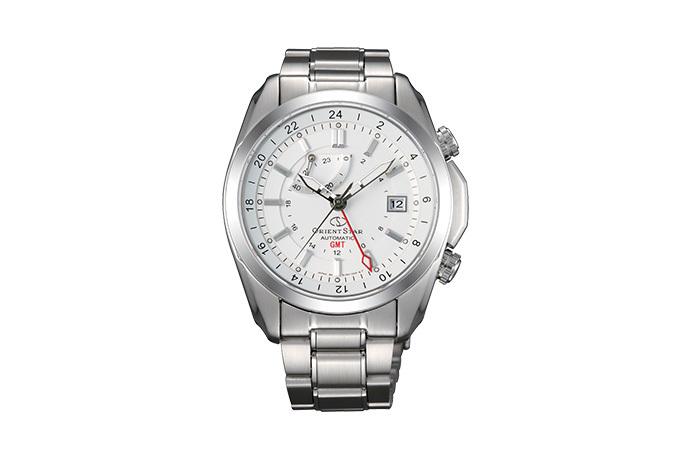 ORIENT STAR: Mechanical Contemporary Watch, Metal Strap - 44.0mm (DJ00002W)