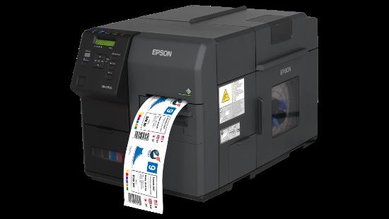 Impresora De Etiquetas Epson Colorworks C7500g Etiquetas