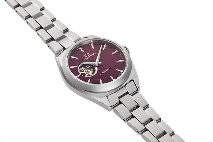 ORIENT STAR: Mecánico Contemporary Reloj, Metal Correa - 30.0mm (RE-ND0102R)