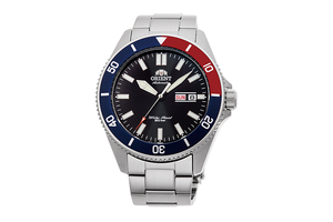 ORIENT: Mechanical Sports Watch, Metal Strap - 44.0mm (RA-AA0912B)