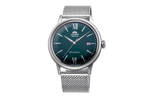 ORIENT: Mechanical Classic Watch, Metal Strap - 40.5mm (RA-AC0018E)