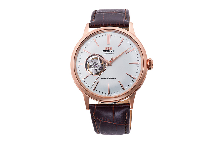 ORIENT: Mechanical Classic Watch, Leather Strap - 40.5mm (RA-AG0001S)