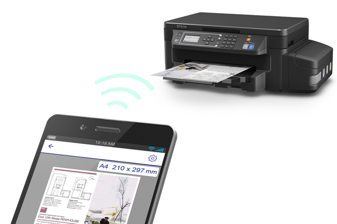 Impresora Multifuncional Epson EcoTank L606
