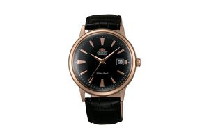ORIENT: Mechanical Classic Watch, Leather Strap - 40.5mm (AC00001B)