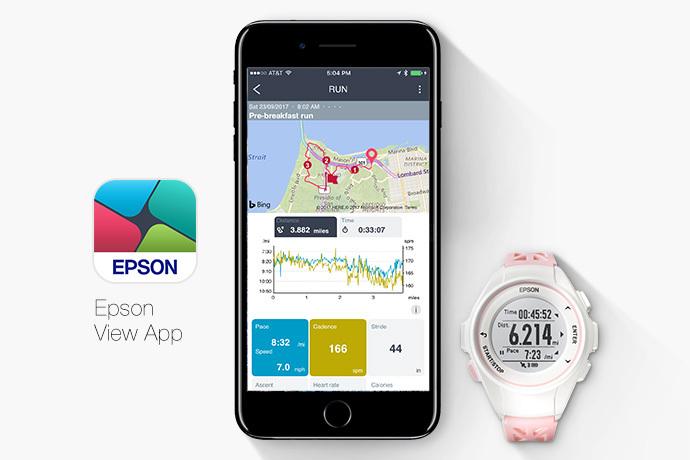 Epson ProSense 17 GPS Running Watch -
