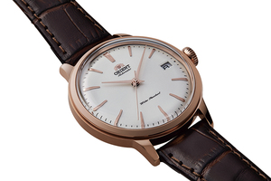 ORIENT: Mechanical Classic Watch, Leather Strap - 36.0mm (RA-AC0010S)