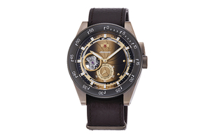 ORIENT: Mechanical Revival Watch, Leather Strap - 40.8mm (RA-AR0204G) Limited