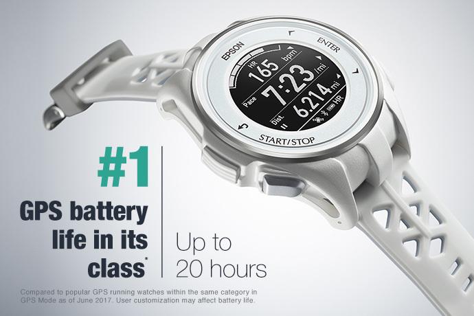 ProSense 307 GPS Multisport Watch - White