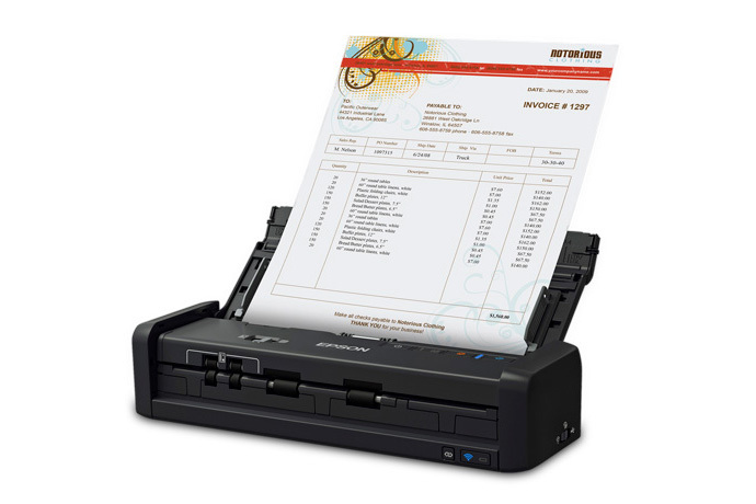 WorkForce ES-300WR Wireless Document Scanner ― Accounting Edition