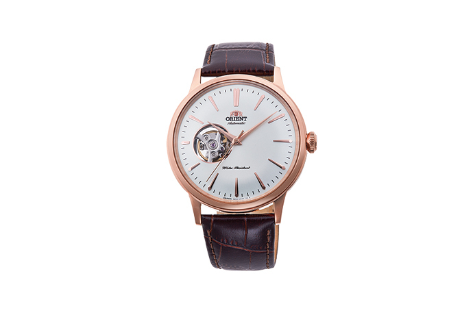 ORIENT: Mechanical Classic Watch, Leather Strap - 40.5mm (RA-AG00001S)