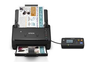 WorkForce ES-500W Wireless Duplex Document Scanner