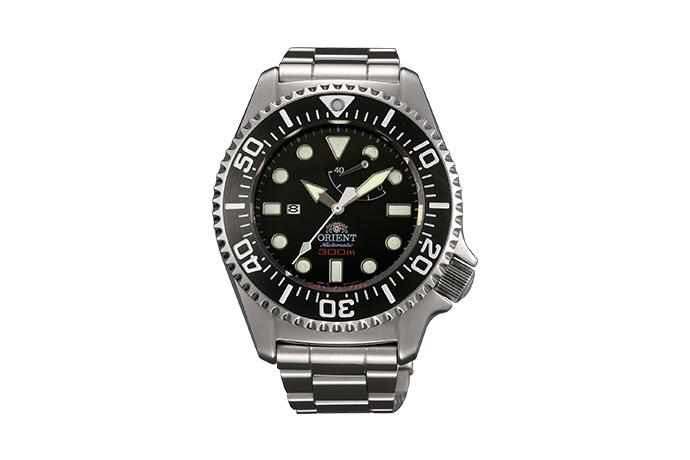 ORIENT: Mechanical Sports Watch, Metal Strap - 45.7mm (EL02002B)