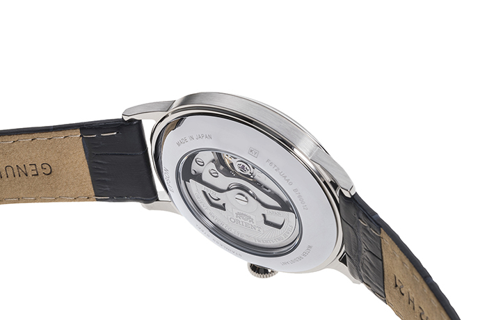 ORIENT: Mechanical Classic Watch, Leather Strap - 40.5mm (RA-AG00005L)