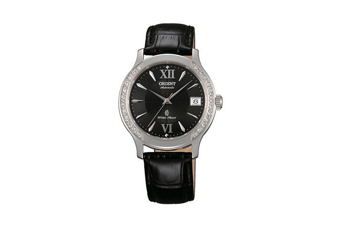 ORIENT: Mechanical Contemporary Watch, Leather Strap - 36.0mm (ER2E004B)