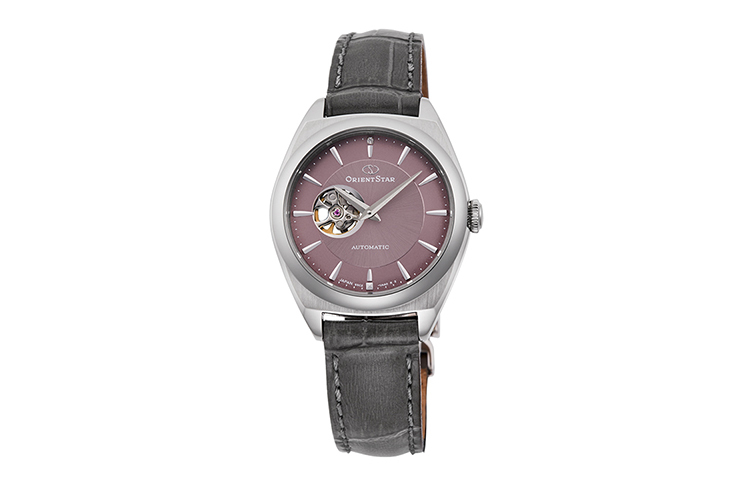 ORIENT STAR: Mechanical Contemporary Watch, Calf Strap - 30.0mm (RE-ND0103N)