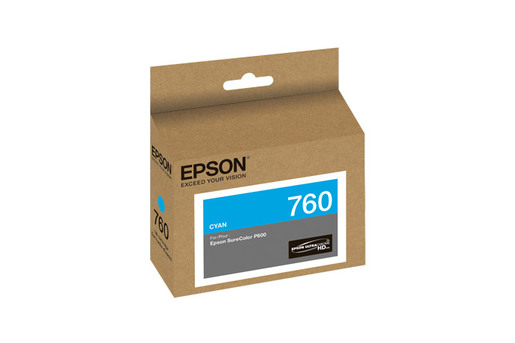 Epson 760, Cyan Ink Cartridge