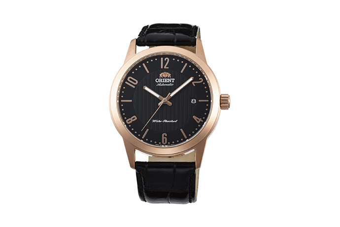 ORIENT: Mechanical Contemporary Watch, Leather Strap - 41.0mm (AC05005B)