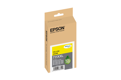 Epson 711XXL, Yellow Ink Cartridge, Extra High Capacity