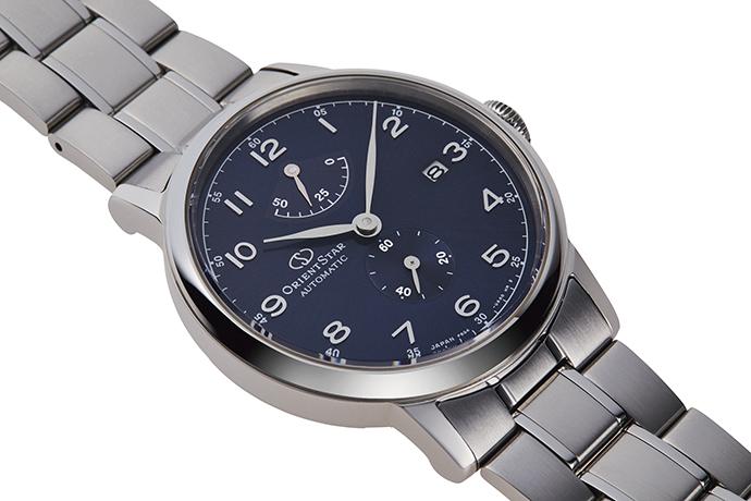 Orient Star: Mecánico Clásico Reloj, Cuero Correa - 38.5mm (AF02004W)