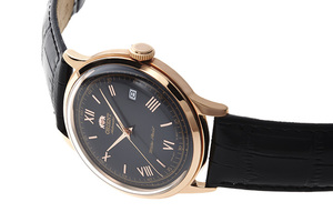ORIENT: Mechanical Classic Watch, Leather Strap - 40.5mm (AC00006B)